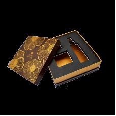 Коробка крышка-дно для подарочного набора косметики