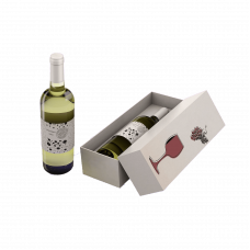 Коробка крышка-дно для вина