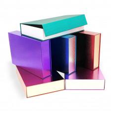 Блестящая коробка на магнитах