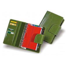 Органайзер из кожи со сменным блоком на кольцевом механизме О.03355