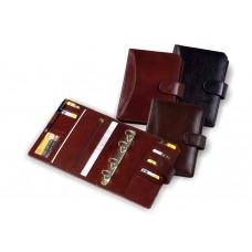 Органайзер из кожи со сменным блоком на кольцевом механизме 235х175 О.07049