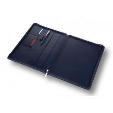 Компактный кожаный органайзер на молнии А4