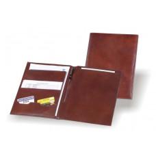 Органайзер для документов формата А4 полностью из кожи