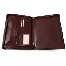 Органайзер на молнии А4+ с карманом для блокнота