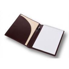 """Папка с блокнотом А5 натуральная кожа """"Вита"""" П.010490-1"""