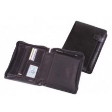 Папка на молнии А5+ с карманами для блокнота и бумаг