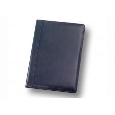 Папка адресная на подпись А4 синяя, кожа Венеция П.010507/15