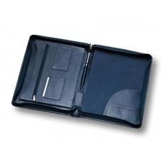 Органайзер для документов кожаный на молнии А4