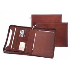 Папка на молнии А4+ с карманом для блокнота П.010300