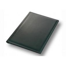 Папка адресная на подпись А4 зеленая, Memory