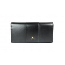 Кошелёк Cross Kelly Wall Black, кожа наппа, гладкая, цвет чёрный, 20 x 11 x 2,5 см