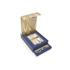 Подарочный набор Waterman: ручка шариковая Carene Black GT + набор открыток и конвертов