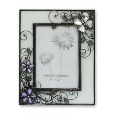 """Рамка для фотографии  Jardin D'Ete  """"Стеклянная бабочка"""", сталь, стекло, 18 х 23 см, фото 10 х15 см"""