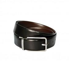 Ремень Cross Santiago, двухсторонний, кожа наппа гладкая, цвет чёрный/коричневый, 126 х 3,5 см