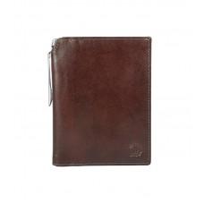 Бумажник для документов Cross Vachetta New Brandy, с ручкой Cross, кожа наппа, гладкая, коричневый