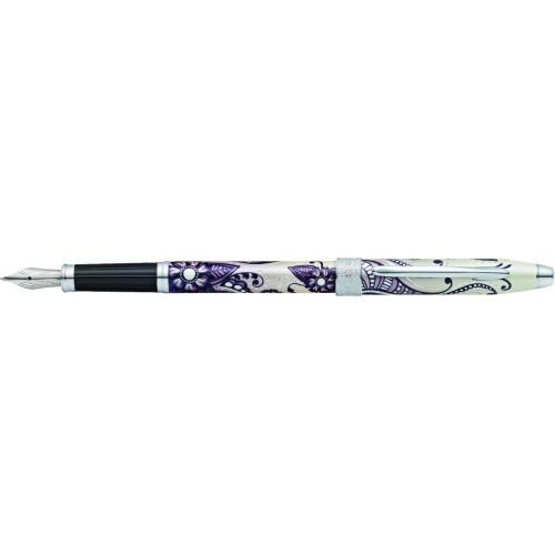 """Перьевая ручка Cross Botanica. Цвет - """"Черная Примула"""""""