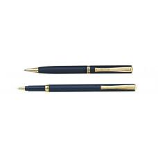Набор: ручка шариковая + роллер Pierre Cardin PEN and PEN, корпус - латунь.