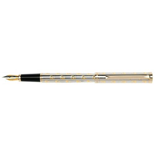 Перьевая ручка Pierre Cardin, EVOLUTION, корпус и колпачок - латунь с гравировкой