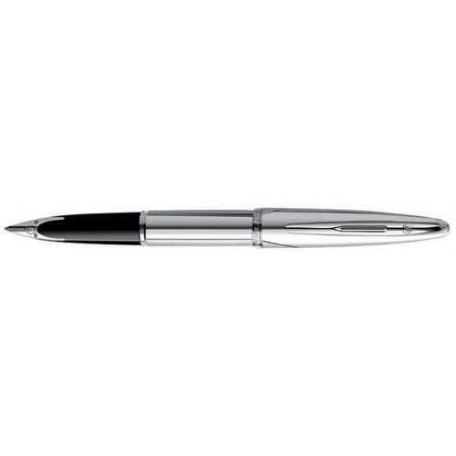 Перьевая ручка Waterman Carene Silver Meridians. Перо - золото 18К, дет. дизайна - палладиевое покр.
