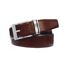 Ремень Cross Classic Century двухсторонний, кожа наппа гладкая, цвет чёрный/коричневый, 126 х 3,5 см