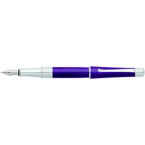 Перьевая ручка Cross Beverly. Цвет - фиолетовый.