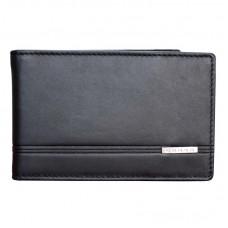 Держатель для денег Cross Classic Century, кожа наппа, гладкая, чёрный, 11 х 1,5 х 7 см