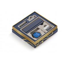 Подарочный набор Waterman: Перьевая ручка Waterman Expert Deluxe Black CT с чехлом для ручки