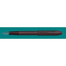 Перьевая ручка Cross Townsend Matte Black PVD, перо F