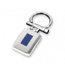 """Брелок """"Caseti"""", сталь с матовым покрытием + эмаль, 6,3 x 2,6 x 0,4 см"""