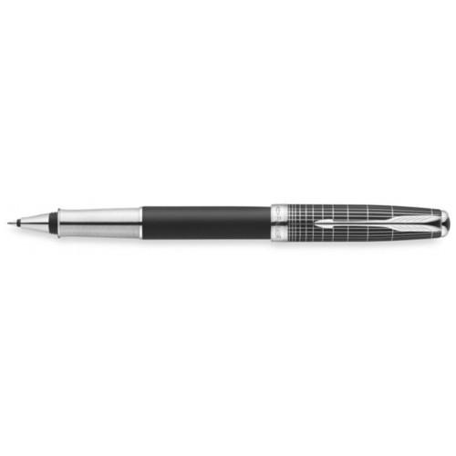 Роллерная ручка Sonnet Special Edition. Детали дизайна - палладиевое покрытие