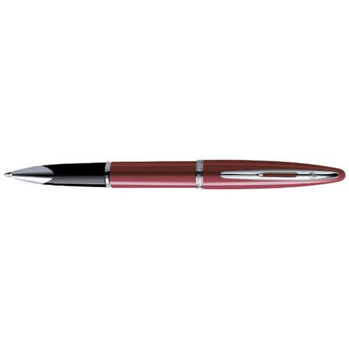Роллерная ручка Waterman Carene Glossy Red Lacquer ST, стержень: тонкий черный