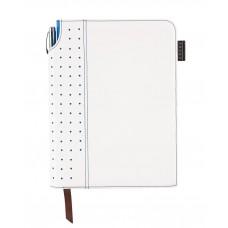 Записная книжка Cross Journal Signature A5, 250 страниц в линейку, ручка 3/4. Цвет - белый