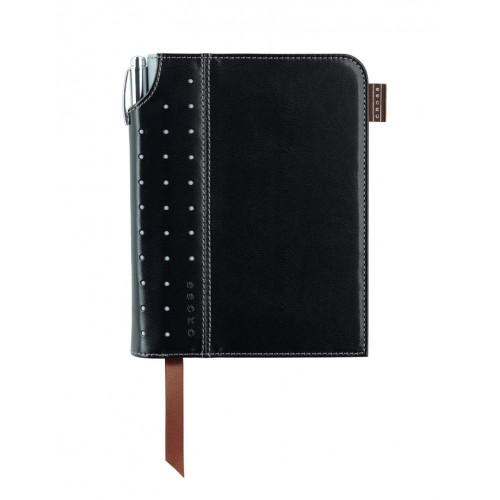 Записная книжка Cross Journal Signature A6, 250 страниц в линейку, ручка 3/4. Цвет-черный