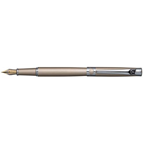 Перьевая ручка Pierre Cardin VENEZIA, цвет - бежевый. Перо - сталь. Упаковка B.