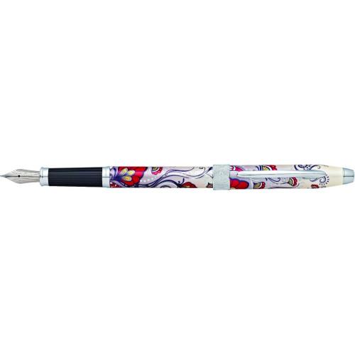 """Перьевая ручка Cross Botanica. Цвет - """"Красная Колибри""""."""