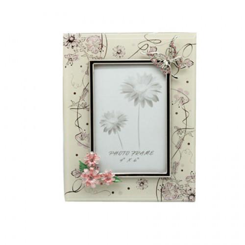 """Рамка для фотографий Jardin D'Ete """"Сиреневые сны"""", сталь, стекло, 17,5 х 23 см, фото 10 х 15 см"""
