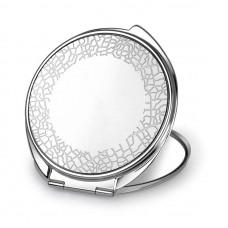 """Зеркало косметическое Jardin D'Ete, """"Пустыня"""", сталь, серебристое, Ø64 мм"""