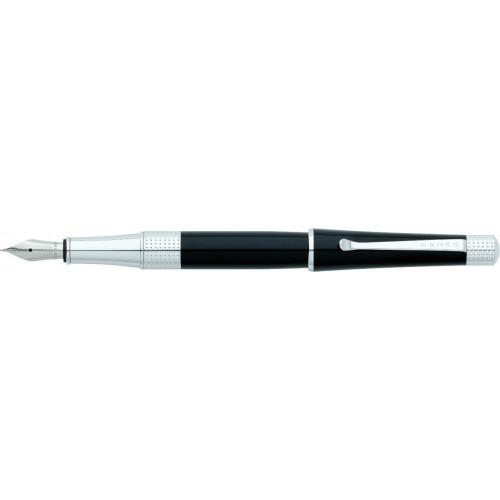 Перьевая ручка Cross Beverly. Цвет - черный.