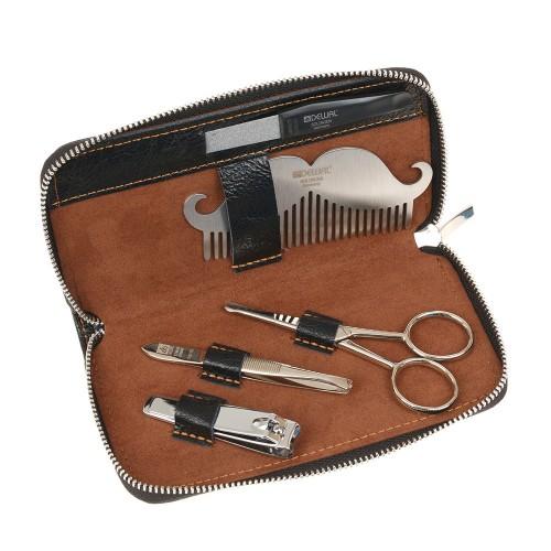 Мужской набор для бороды, усов и ногтей DEWAL серии