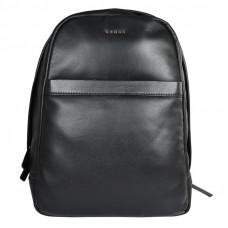 Рюкзак мужской Cross Renovar Black, кожа наппа, комбинированная фактурная и гладкая, чёрный