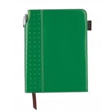 Записная книжка Cross Journal Signature A5, 250 страниц в линейку, ручка 3/4. Цвет - зеленый