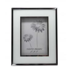 """Рамка для фотографии Jardin D'Ete """"Инь-Ян"""", cталь, стекло, 20,5 х 25,5 х 2 см, фото 13х18 см, белый"""