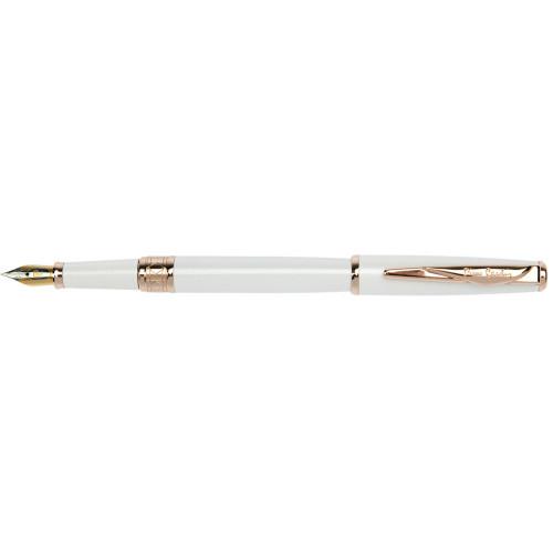 Перьевая ручка Pierre Cardin,SECRET Business, цвет - белый. Упаковка B