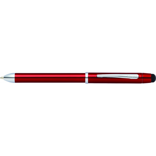 Многофункциональная ручка Cross Tech3+. Цвет - красный.