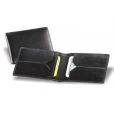 Кредитница кожаная на 4 плоских кармана 105х70 В.015633