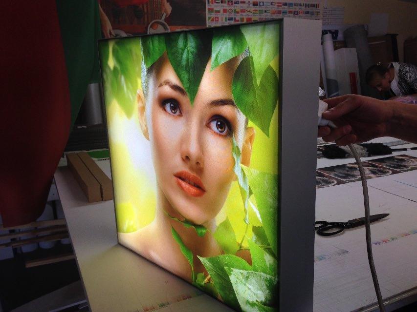 Печать эффектных рекламных материалов